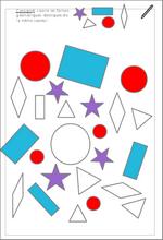 Coloriage formes g om triques fiches d 39 activit s maternelles - Coloriage des formes geometriques ...